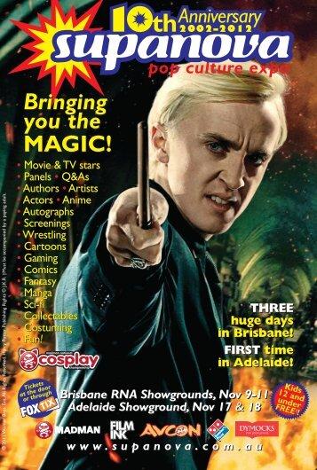 Supanova 2012 – Magazine – Brisbane/Adelaide - Supanova Pop ...