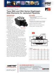 USG Type SMJ and SNJ Series Diaphragm Seal - PEC-KC.com