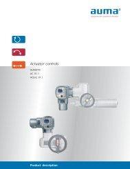 AUMATIC Controls Brochure - PEC-KC.com