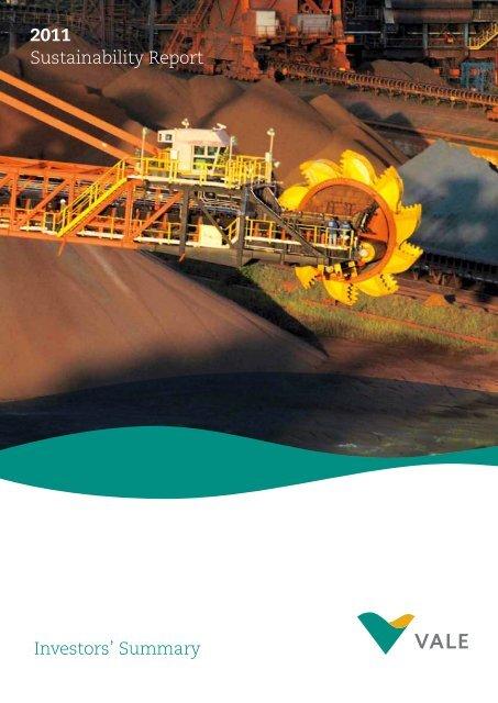 2011 Sustainability Report Investors' Summary - Vale.com