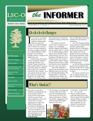 The Informer - September 2012 - Lamar State College-Orange