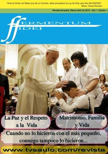 Fermentum Fidei Revista Digital