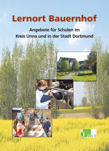 Angebote für Schulen im Kreis Unna und in der Stadt Dortmund ...