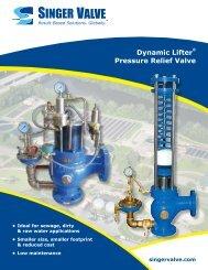 Dynamic Lifter® Pressure Relief Valve - Singer Valve Inc.