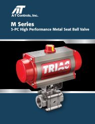 Series M Metal Seat 3-Piece Ball Valve - RM Headlee