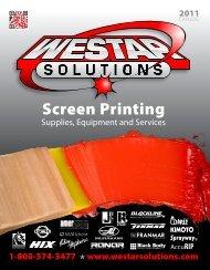 Screen Printing - Westar Solutions.com