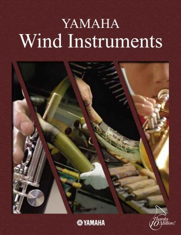 YAMAHA Wind Instruments - Ozwinds