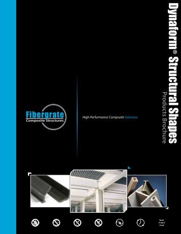 Dynaform Structural Shapes Brochure - Fibergrate Composite ...