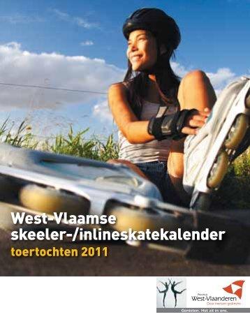 skeelerkalender - Provincie West-Vlaanderen