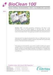 Bioclean 100 BVA E Product Data Sheet PDS3.cdr - AM Instruments ...