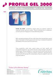 Profile Gel 3000 PGHS Product Data Sheet PDS6.cdr - AM Instruments