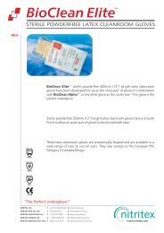 BioClean Elite BELS Product Data Sheet PDS7.cdr - AM Instruments
