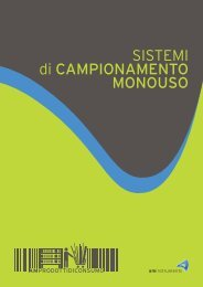 sistemi di CAMPIONAMENTO MONOUSO - WARP - AM Instruments