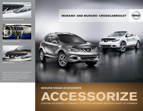 Nissan Murano   Accessories Brochure   Nissan USA