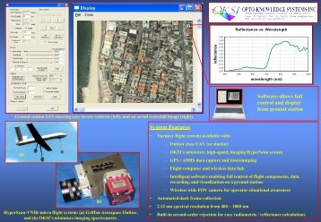 HyperScan-VNIR-micro Spec Sheet - TechExpo