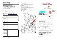 Anmeldung Einladung - Rheinland-Pfalz