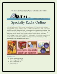 Specialty Racks Online