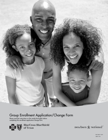 Group Enrollment Application/Change Form - Neos Consulting ...