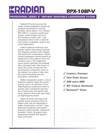 RPX-108P-V (Page 1) - KOZY STUDIO