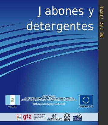Ficha20. Jabones y Detergentes