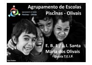 Agrupamento de Escolas Piscinas - Olivais - ERTE