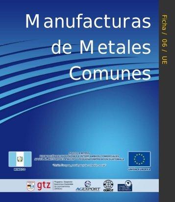 Manufacturas de metales comunes