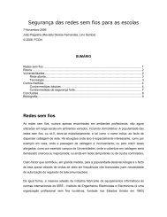 Segurança das redes sem fios para as escolas [PDF - 124 KB]