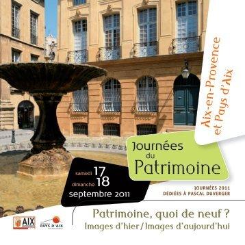 Patrimoine - Aix-en-Provence