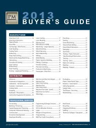 2013 Buyer's Guide - Minnesota Precision Manufacturing Association