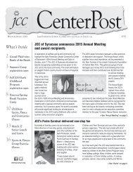 2015 Winter/Spring CenterPost
