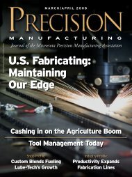 U.S. Fabricating: Maintaining Our Edge - Minnesota Precision ...
