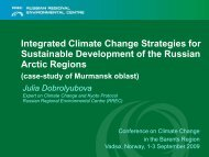 Integrated Climate Change Strategies for Sustainable Development ...