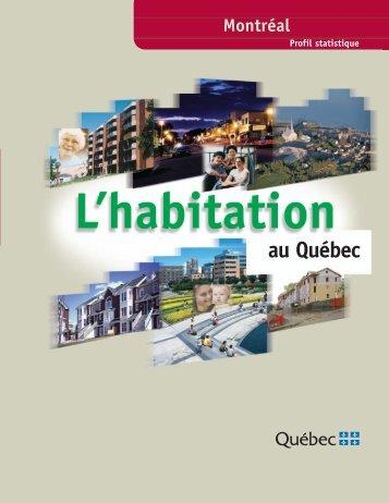 Profil statistique de l'habitation : Montréal. 2e édition - Société d ...