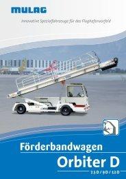 Orbiter D - MULAG Fahrzeugwerk, Heinz Wössner GmbH u. Co. KG
