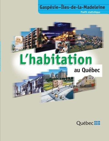 Gaspésie - Îles-de-la-Madeleine - Société d'habitation du Québec