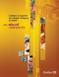 Conditions de logement des ménages immigrants au Québec : une ...