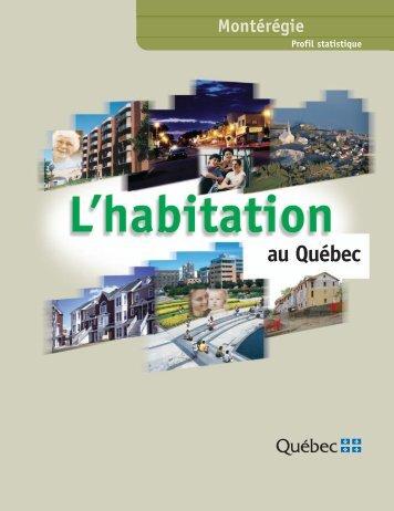 Profil statistique de l'habitation : Montérégie. 2e édition - Société d ...