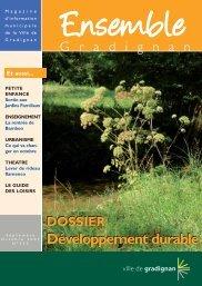Journal municipal - Ensemble n°232 - Gradignan