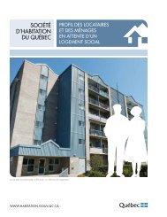 Profil des locataires des ménages en attente d'un logement social