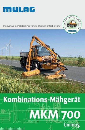 Kombinations-Mähgerät MKM 700 - MULAG Fahrzeugwerk, Heinz ...