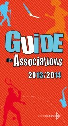 guide des associations complet - Gradignan