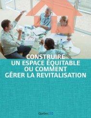 Construire un espace équitable ou comment gérer la revitalisation