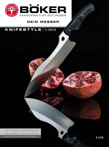 KNIFESTYLE 1-2010 - Böker