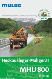 MHU 800 - MULAG Fahrzeugwerk, Heinz Wössner GmbH u. Co. KG
