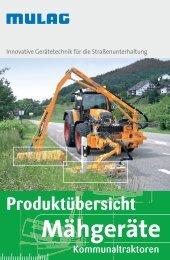 Mähtronic - MULAG Fahrzeugwerk, Heinz Wössner GmbH u. Co. KG