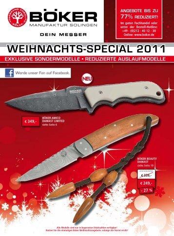 WEIHNACHTS-SPECIAL 2011 - Böker