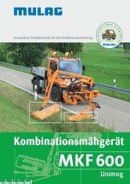 MKF 600 - MULAG Fahrzeugwerk, Heinz Wössner GmbH u. Co. KG