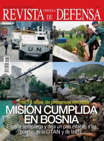Revista Española de Defensa núm. 267 - Ministerio de Defensa