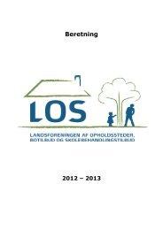 Beretning 2012 - Los