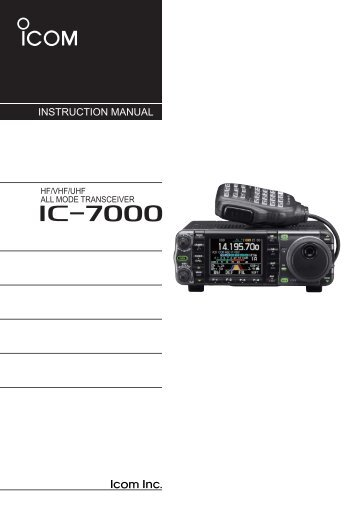 Ic a200 installation Manual
